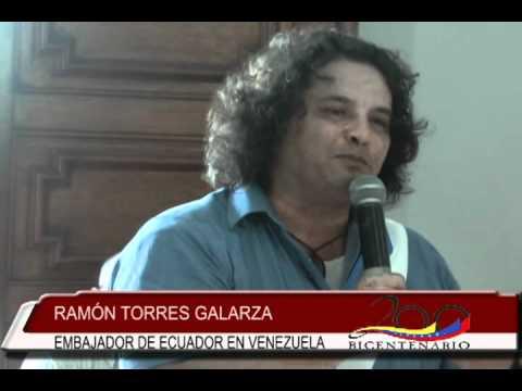 Visita del Embajador Ramón Torres y Prefecto de Pichincha a Cumaná