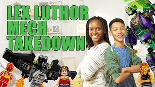 LEGO DC Lex Luthor Mech Takedown Unboxing - The Build Zone