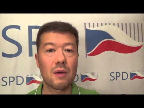 Tomio Okamura: Oblbovací fabulace