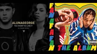 Dj Snake - You Know You Like It / Chris Brown ft. Tyga - B*tches N Marijuana (Mashup)