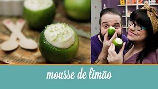 Mousse de Limão servido no limão (receita fácil feita com 3 ingredientes) | Cozinha para 2