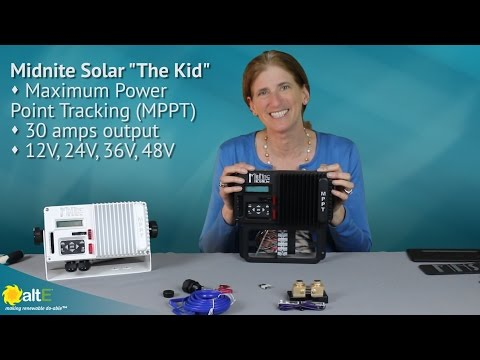 We take a closer inside look at the capabilities and improvements of the latest version of Midnite Solar's MPPT solar charge controller, The Kid. It is able to manage the power from solar panels in a variety of types of deep cycle batteries, ranging from 1