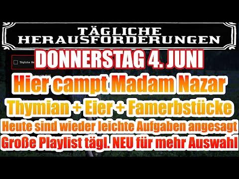 Donnerstag 4. Juni. Juni Täglichen Herausforderung Dailys Nazar Red Dead Redemption 2 Online