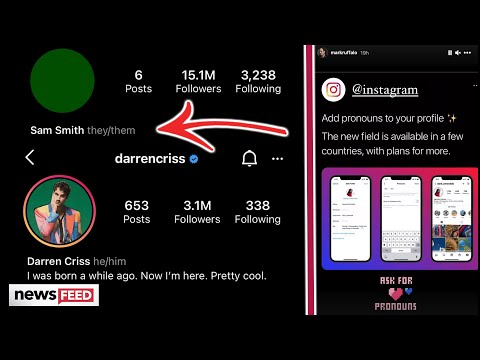 Celebs Praise Instagram Over New Pronouns Feature