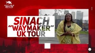 Sinach Waymaker Uk Tour