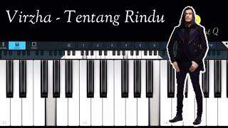 Virzha - Tentang Rindu ( Simple piano )