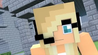 "Minecraft Songs ""Shake My Axe"" Psycho Girl 4 and Little Square Face Minecraft Songs"