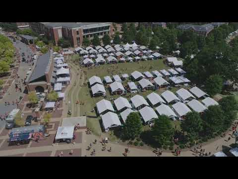 Fans tailgate outside Jordan-Hare ahead of Auburn vs. LSU