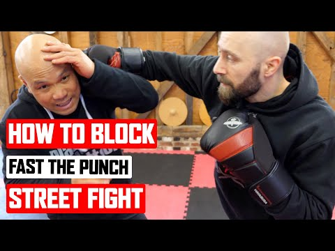 How to block fast punch in a ✅  street fight