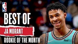 Ja Morant's October/November Highlights   KIA Rookie of the Month