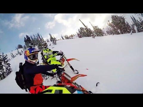 Snowbiking in Idaho Backcountry | POV