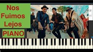 Nos fuimos lejos - Piano Cover - Descemer Bueno, Enrique Iglesias, El Micha