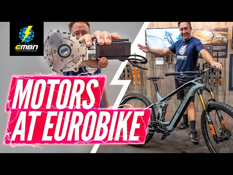 The Latest E-Bike Motor Tech From Eurobike 2019