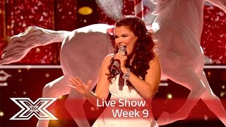 Saara gets into the Christmas spirit with Mariah Carey cover | Semi-Final | The X Factor UK 2016