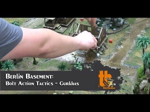 Bolt Action Tactics -  Gurkhas [BB #7]
