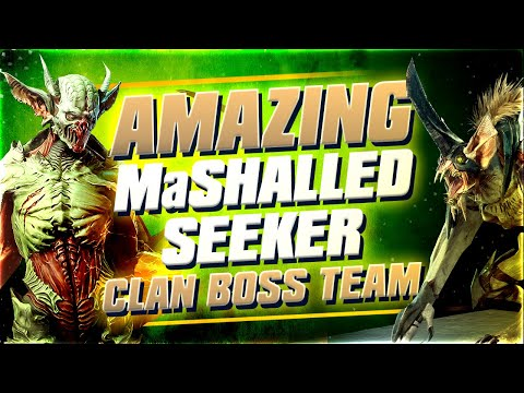 Double Maneater Mashalled Seeker Clan Boss team is AMAZING! Raid Shadow Legends