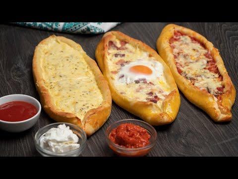 Fantastično testo za picu i drugačiji oblik - Turske pide / Pizza dough Turkish way
