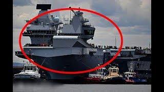 英国最强航母服役2周就闹丑闻,皇家海军:我们被抢劫了