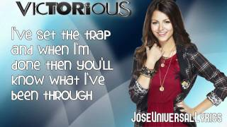 Victorious Cast - Beggin' On Your Knees ft. Victoria Justice (Lyrics On Screen) HD