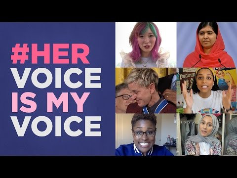 #HerVoiceIsMyVoice: Celebrate the Women Who Inspire Us Every Day