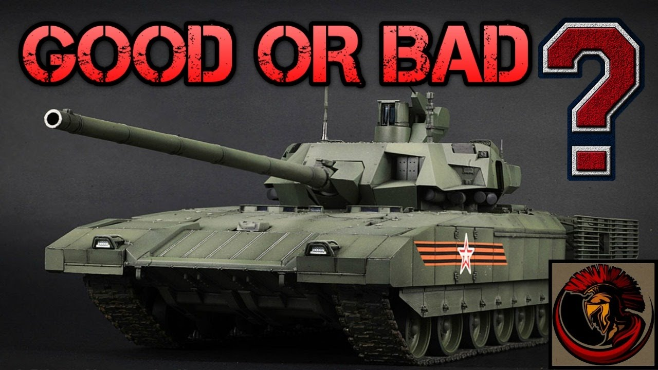 T-14 Armata Main Battle Tank - Good Or Bad Tank