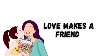 Love Makes a Friend Be a Friend Like You (Sandi Patty) - LYRICS VIDEO