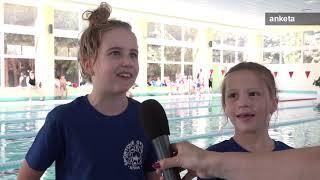 Plavecká súťaž na Deň detí