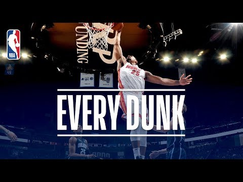 Anthony Davis, Donovan Mitchell, and Every Dunk From Saturday Night | December 30, 2017