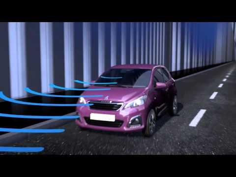 Peugeot technology | Active City Brake