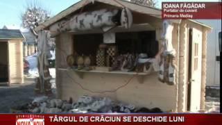 Targul de Craciun se deschide luni la Medias - novatv.ro