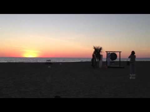 Sunset at Singita