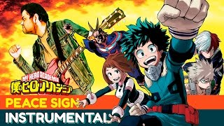 "Boku no Hero Academia Opening 2 ""Peace Sign"" 【INSTRUMENTAL COVER】 OMAR1UP"