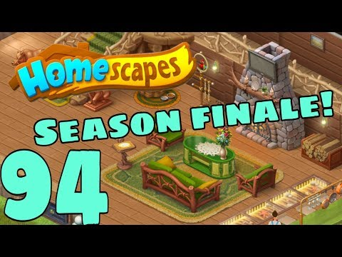 HOMESCAPES - Gameplay Walkthrough Part 94 - New Lake Cabin Day 4 Season Finale
