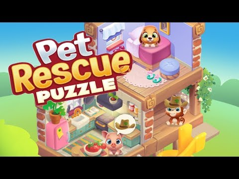 PET RESCUE PUZZLE SAGA - Gameplay Walkthrough Part 1 iOS / Android - Level 15 -31