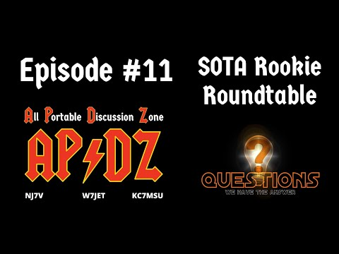 Episode #11 - Q&A for the SOTA Rookie