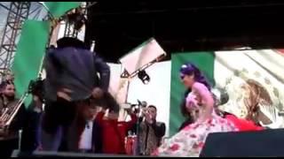 Marco flores y la numero 1 banda Jerez en los XV DE RUBI