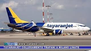 Tayaranjet collegherà Trapani a Milano Linate