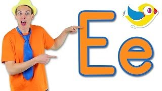 The Letter E Song - Learn the Alphabet