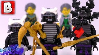 Every LEGO Ninjago Garmadon Minifigure Ever Made!!!