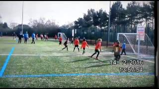 Kings Heath vs Olton u9's 3-3 goals 14.2.16