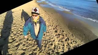 Spacer plażą z Gdyni-Orłowa do Sopotu