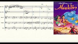 Arabian Nights (from Aladdin) for Brass Quintet Sheet Music