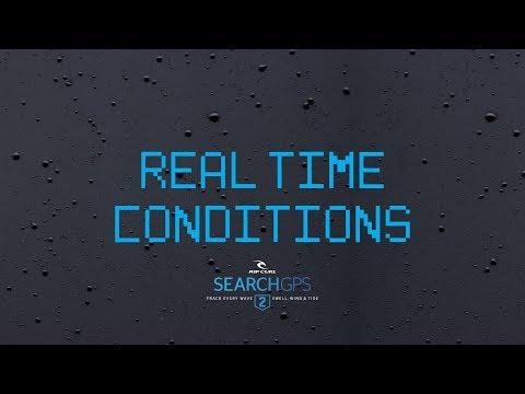 Real Time Conditions | Rip Curl's SearchGPS 2 Surf Watch