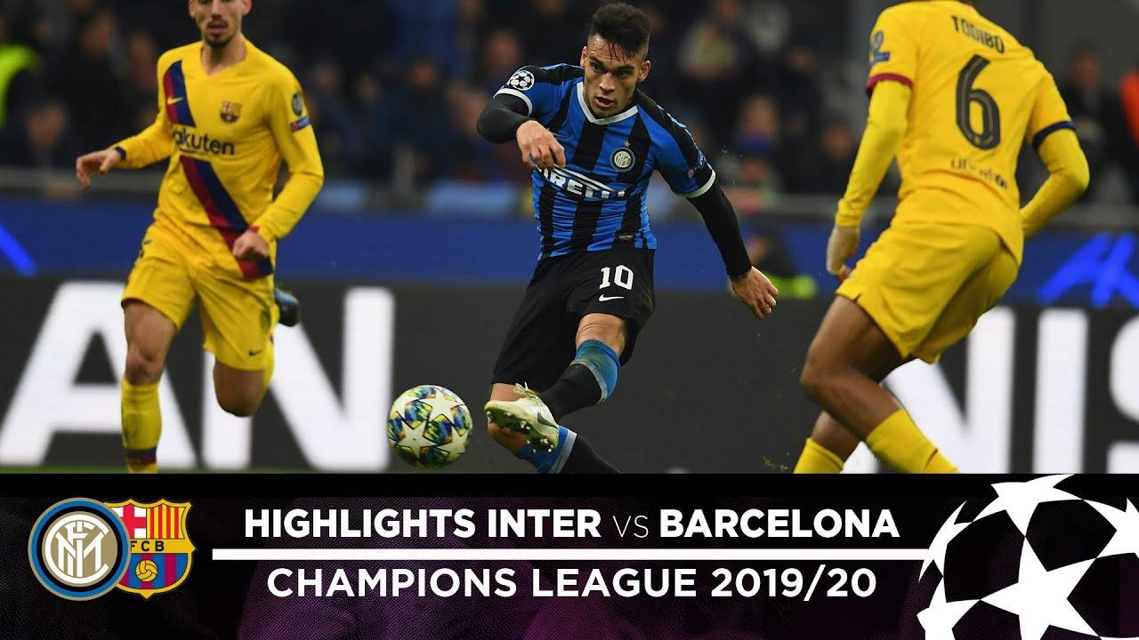 Inter 1 Barcellona 2 highlights