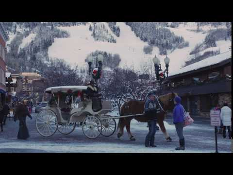 #AspenShorts Carriage Ride in Downtown Aspen