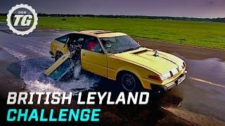 British Leyland Challenge Highlights | Top Gear | BBC width=