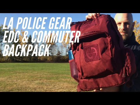 LA Police Gear EDC & Commuter Backpack: Budget-Friendly Backpack for Less Than $20