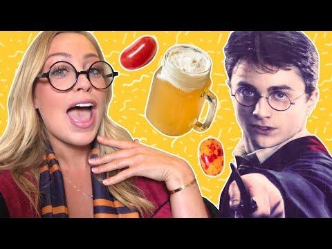 I Ate Like Harry Potter (feat. Skyler Bouchard) | Experimental Eats