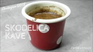 Skodelica kave - Črtice v štiklce