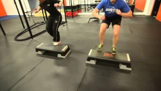 STA Fitness Fast Step Aerobics